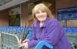 Gwyneth Evans found work through Remploy, TC Facilities Management disability employment partner